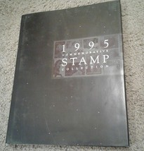 1995 USPS Stamp Yearbook  HARDCOVER BOOK ONLY, no stamps! - $12.19