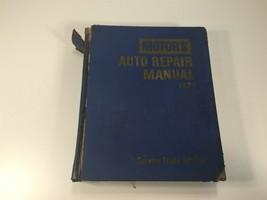 1970 MOTOR Auto Repair Manual Service Trade Edition - $14.99