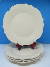 "Pier 1 McKenzie 10.5"" Dinner plate bundle of 4 Excellent condition. - $37.83"