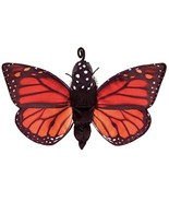 """Folkmanis Monarch Life Cycle Reversible Hand Puppet Plush, 8"""", Red-Orang... - $37.79"""