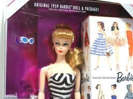1993 Mattel 35th Anniversary Barbie Blonde Hair #11590 New NRFB - $19.80