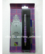 Parker Vector Special Edition CT Roller BallPoint Ball Pen Axis Purple B... - $19.99