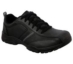65419 Negro Skechers Zapatos Hombre Espuma Viscoelástica Deportivo Casual - $39.95