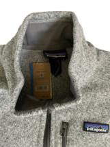 NWT New Patagonia Men M Medium Better Sweater Vest Stonewash Grey Fleece image 2