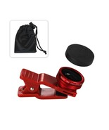 180Degree Fish Eye Lens Red - $12.32