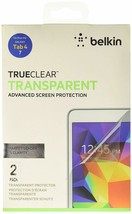 Belkin 7 inch Screen Protector for Samsung Galaxy Tab 4 (2 Pack) - $7.92