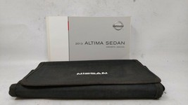 2013 Nissan Altima Owners Manual 91145 - $31.19
