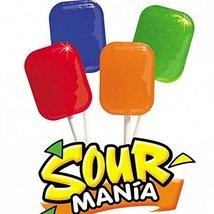 Cima Super Sour Mania Lollipops - 24 Ct. Case - $24.99