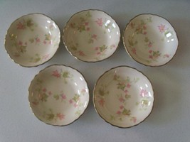 Homer Laughlin Maple Leaf 5 Fruit Or Dessert Bowls - $34.99