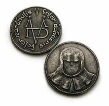 Game of Thrones Coin Valar Morghulis Faceless Man Iron Coin Medalion 27m... - $3.85