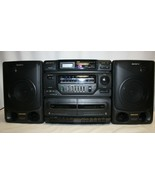 Vintage 90s Sony CFD-560 CD Radio Cassette-Recorder – PLEASE READ  - $79.19