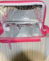 Oh Mint 1609999STRIPE Rainbow Stripe Seersucker Lunch Box image 4