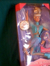 Olympic Skater Barbie 1997 Made in China Mattel toy doll - $10.00