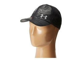 NEW! Under Armour Women's Fly Fast Cap-Black/Grey Printed - $44.43