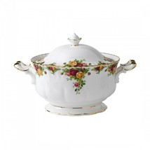 Royal Albert Old Country Roses Soup Tureen New with Tag # IOLCOR00468 - $394.66