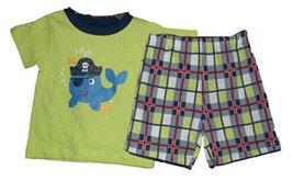 0-3 Months Boys Pirate Short Set - $13.00