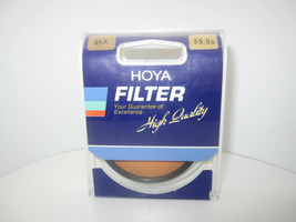 Hoya 85A 55mm Filter Lens (Made in Japan) - $22.33