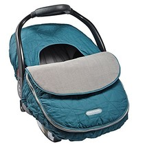 JJ Cole - Car Seat Cover, Weather Resistant Canopy to Protect (Teal Frac... - $43.13