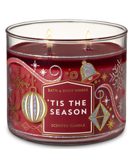 Bath & Body Works 'Tis The Season Three Wick 14.5 Ounces Scented Candle - $22.49