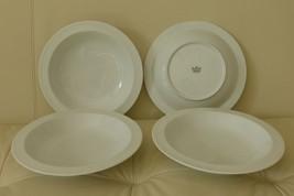4 Rosenthal Studio-Line 1986 Fine Porcelain Soup Plates - $79.00