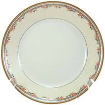 "Haviland & Co Schleiger 298a Coupe Soup Bowl White Cream Pink Roses 7.5"" Limoges - $17.15"