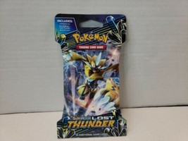 Pokemon TCG: Sun & Moon Lost Thunder 10-Card Booster Packs NEW~ASSORTED  - $8.99