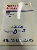 1989 Nissan 240SX Electrical Wiring Diagram Diagrams Manual Book OEM Fac... - $138.55