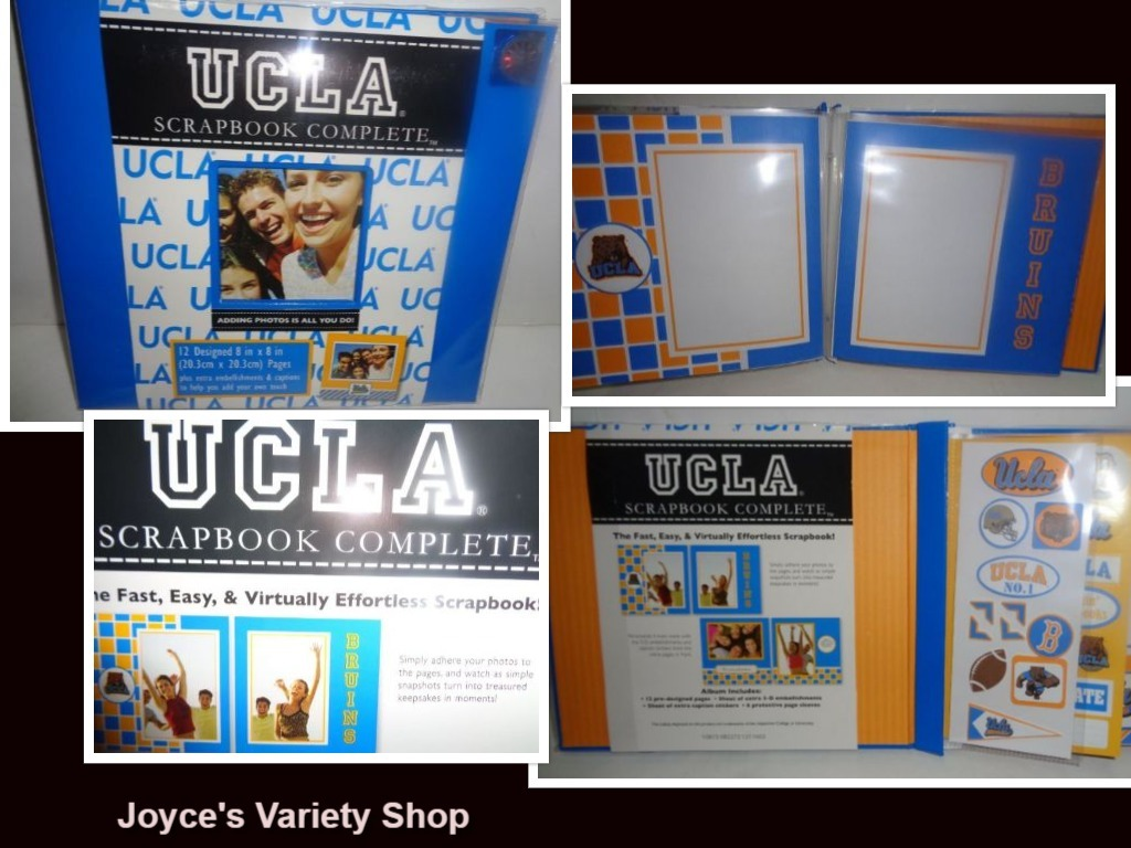 Ucla scrapbook collage