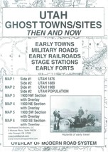 Utah Ghost Towns/Sites Then and Now ~ Ghost Towns - $12.95