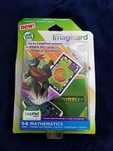 LeapFrog Imagicard Teenage Mutant Ninja Turtles Learning Game Mathematic... - $7.92