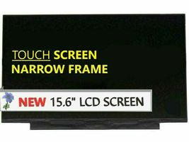 """New B156HAK02.1 LCD LED Touch Replacement Screen 15.6"""" HD Display + Digi... - $105.00"""