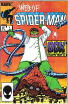 Web of Spider-Man Comic Book #5 Marvel Comics 1985 VERY FN/NEAR MINT NEW... - $3.99