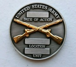 """U.S. Army PATRIOTIC- """"Combat Infantryman Coin"""" - Great GIFT- AMERICAN- Coin - $19.79"""