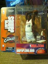 BRAND NEW Lebron James ROOKIE Cleveland  Cavaliers McFarlane White Jerse... - $25.73