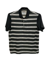 Adidas Climacool men's polo shirt striped short sleeve multicolor size M - $12.65