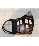 Doctor Who Reusable Face Mask (Handmade) with Nosewise & Reversible - $23.34