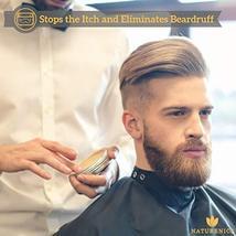 Naturenics Premium Beard Oil & Balm Wax Unscented Kit- Made with 100% Pure, Orga image 4