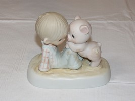 Precious Moments Jonathan & David 1982 We're In It Together figurine ~ - $39.59