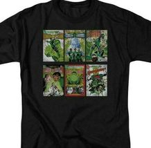 Green Lantern DC Comic book covers retro comics cotton graphic t-shirt GL104 image 3