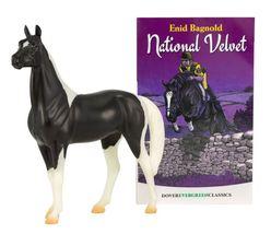 Breyer National Velvet Horse and Book Set Clasics 6180 - $22.99