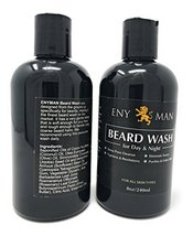 Beard and Face Wash Cleans Conditions Facial Hair Without Irritating Skin Undern image 3