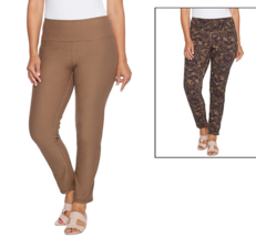 Women with Control Petite Renee's Reversibles Ankle Pant Size Petite Large - $10.88