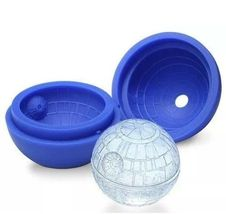 2 x Silicone Mold Ice Cube Chocolate Tray Ball Sealed Star Wars - $11.70