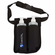 EARTHLITE Massage Bottle Holster Double Kit - Incl. 2 Bottles & Heavy Du... - $28.24