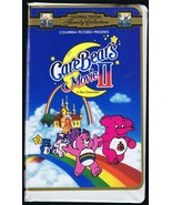 1986 Care Bears Movie II A New Generation VINTAGE VHS Clamshell Edition - $13.99