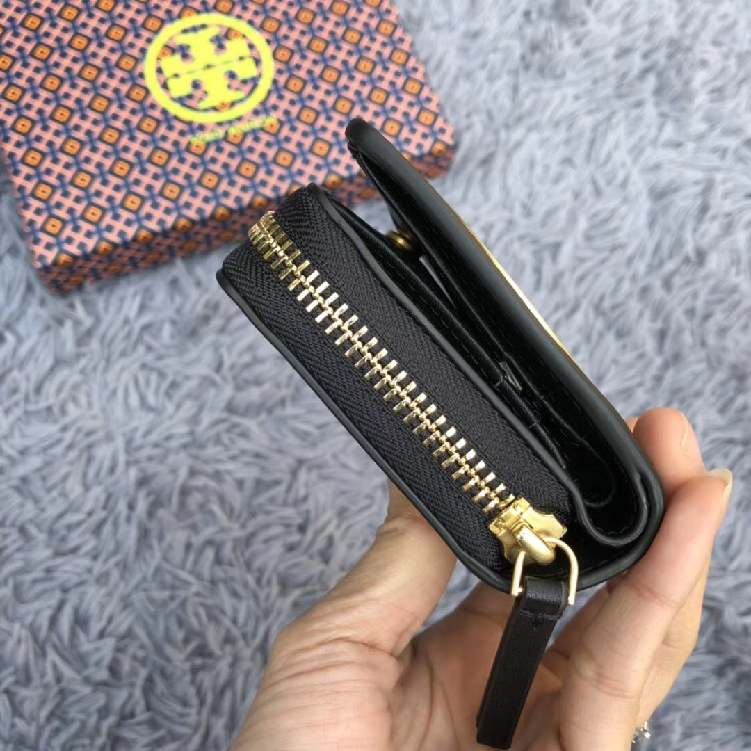 e8e83c583c62 Tory Burch Charlie Mini Bi-Fold Wallet and 50 similar items