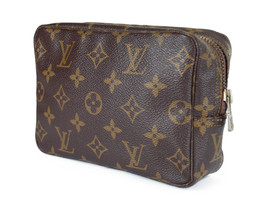 LOUIS VUITTON TROUSSE TOILETTE 18 Monogram Canvas Cosmetic Pouch Bag LP2755 - $369.00