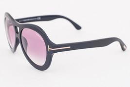 Tom Ford Isla Black / Purple Gradient Sunglasses TF514 01Z - $165.62