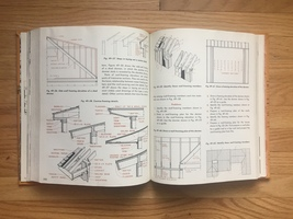 1965 Architecture - Drafting and Design textbook. By Hepler and Wallach image 8