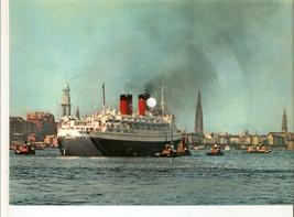 Old Musical 45rpm Record Postcard HAITI CHERIE Hamburg Hanseatic Schallb... - $18.00